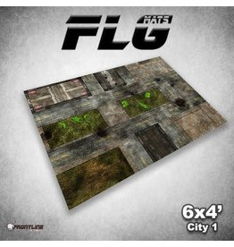 Frontline Gaming FLG City 1 6x4' Mat
