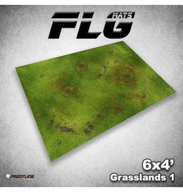 Frontline Gaming FLG Grasslands 1 6x4' Mat