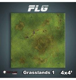 Frontline Gaming FLG Grasslands 1 4x4' Mat