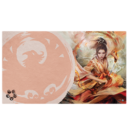 Fantasy Flight Games L5R LCG PM: The Soul of Shiba Playmat Phoenix Clan