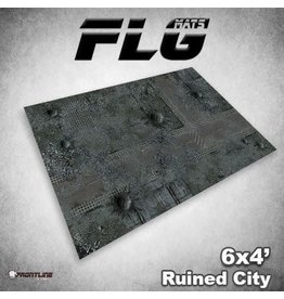 Frontline Gaming FLG Ruined City 6x4' Mat
