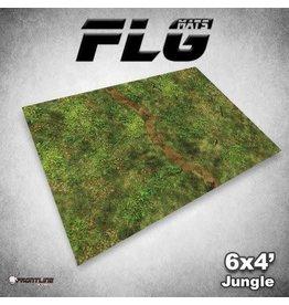 Frontline Gaming FLG Jungle 6x4' Mat