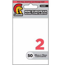 Legion Board Game Sleeves: Mini-European (50)