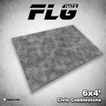 Frontline Gaming FLG Civic Cobblestone 6x4' Mat