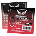 Mayday Games Card Sleeves (80x80mm) 50 Pack Premium Medium Square
