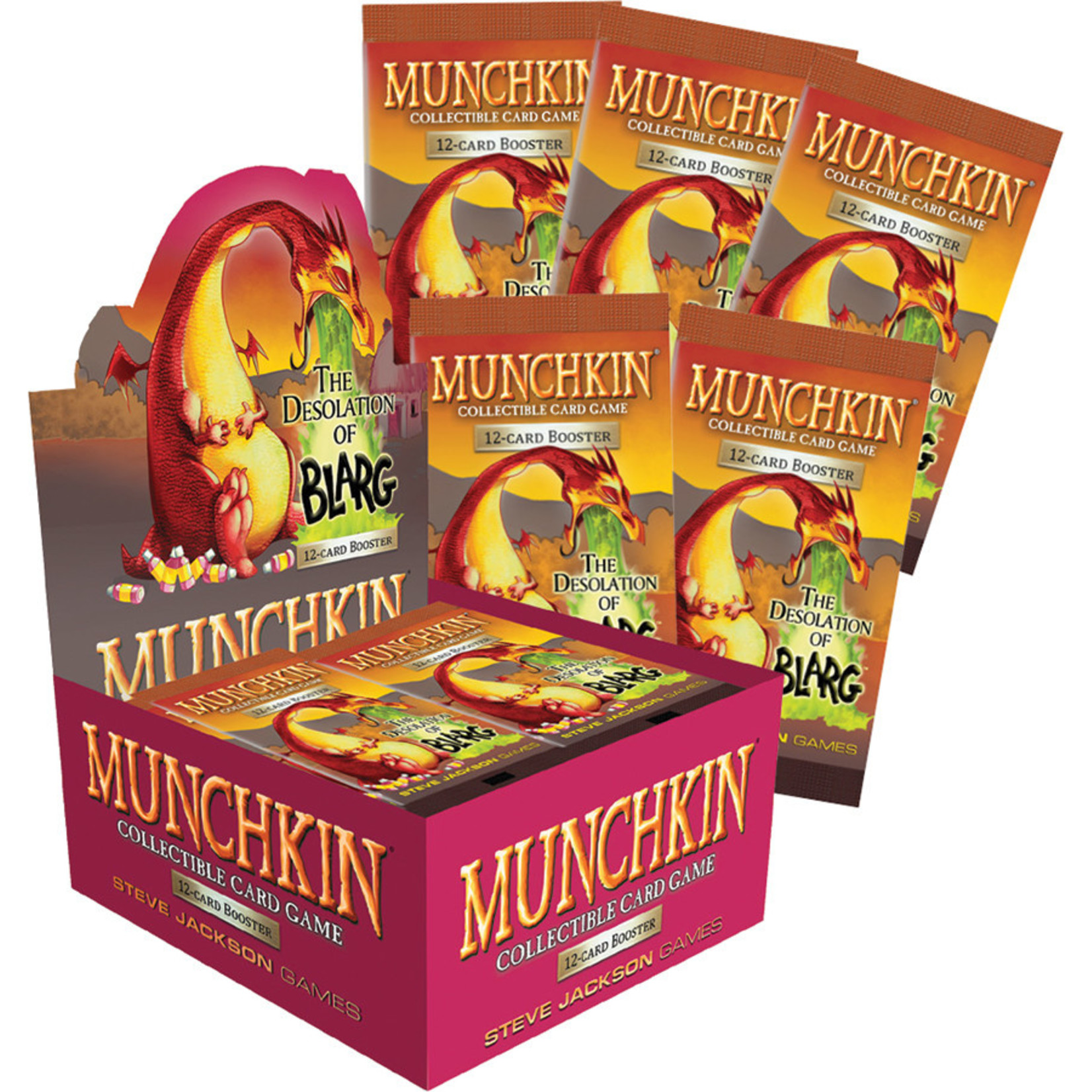 Steve Jackson Games Munchkin CCG: The Desolation of Blarg Booster