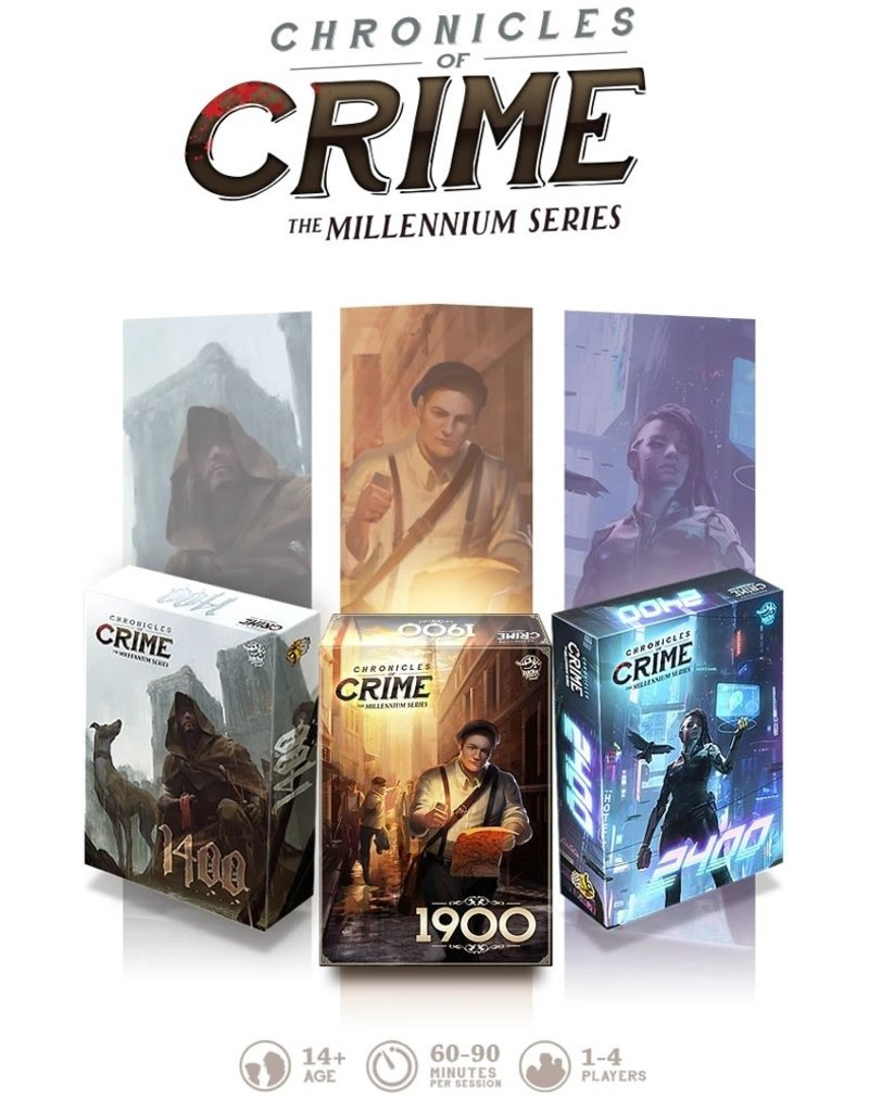 Lucky Duck Games Chronicles of Crime - The Millennium Series KS