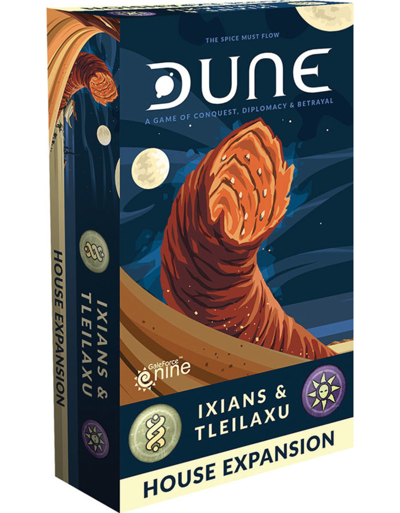 GaleForce Nine Dune Board Game: Ixians and Tleilaxu House Expansion