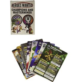 ActionPhase Games Heroes Wanted: Champions and Masterminds Expansion