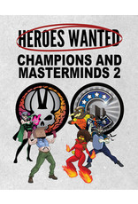 ActionPhase Games Heroes Wanted: Champions and Masterminds 2 Expansion