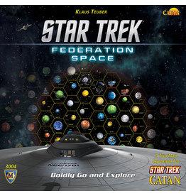 ANA Catan Studios Star Trek Catan Federation Space Map Set