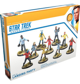 Modiphius Original Landing Party Star Trek Adventures RPG