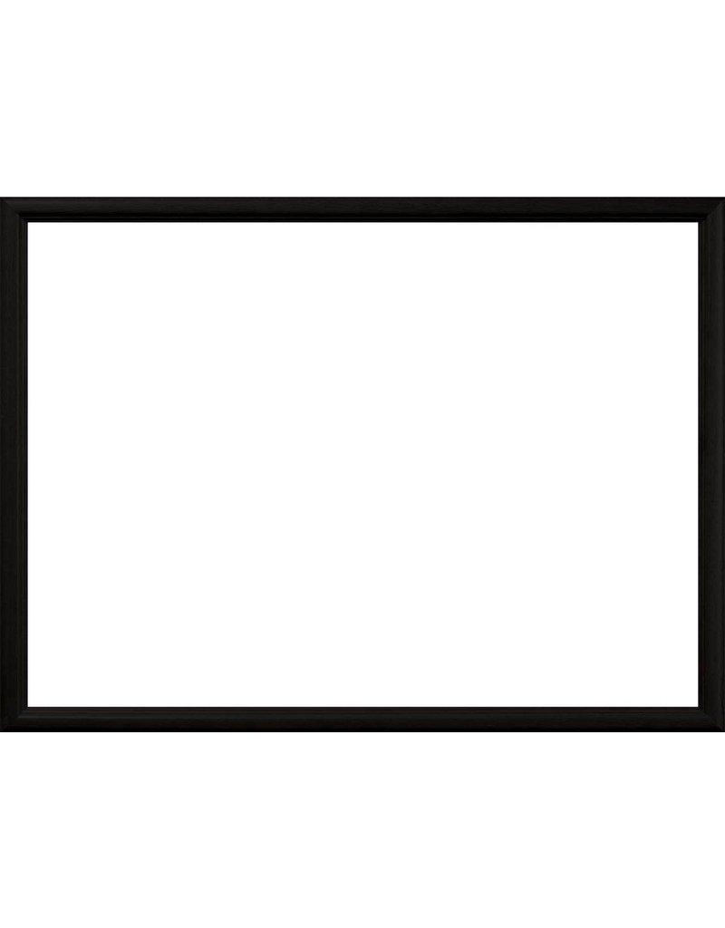 "Master Pieces Puzzle 550 Piece Jigsaw Puzzle Frame: Black Wood 18"" x 24"""