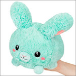 squishable Mini Fluffy Bunny Mint Squishable 7""