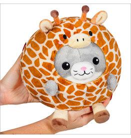 "squishable Undercover Kitty in Giraffe Squishable 7"""
