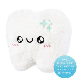 squishable MIni Tooth with Tooth Fairy Pocket Squishable 7""
