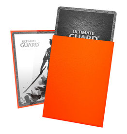 Ultimate Guard Orange 100ct Katana Sleeves