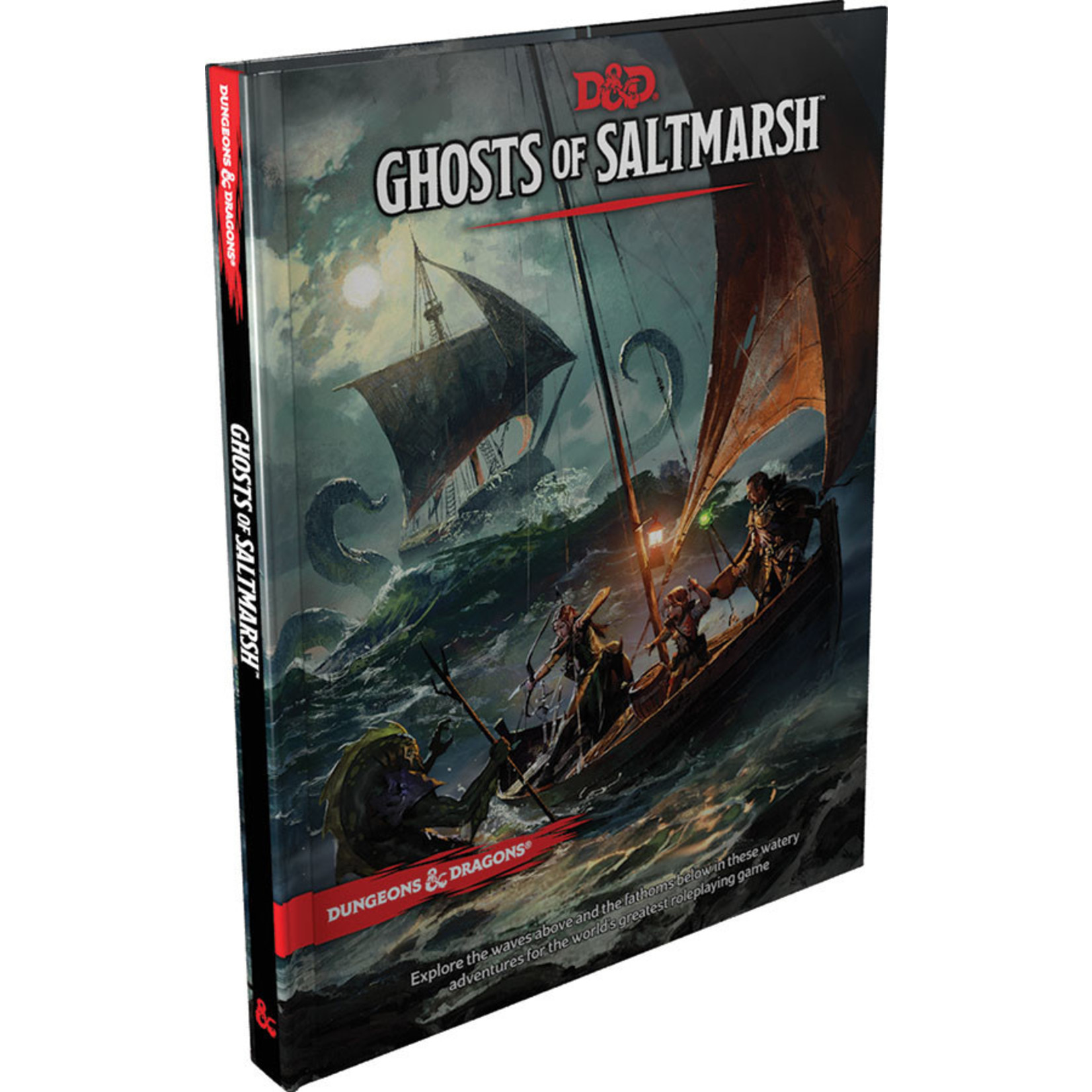 WOTC D&D D&D 5E Ghosts of Saltmarsh