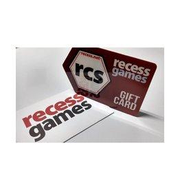 Recess Gift Card