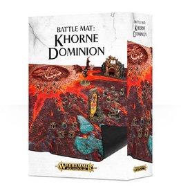 Games Workshop Warhammer Age of Sigmar Battle Mat: Khorne Dominion