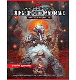 WOTC D&D D&D 5E MAP Waterdeep Dungeon Mad Mage