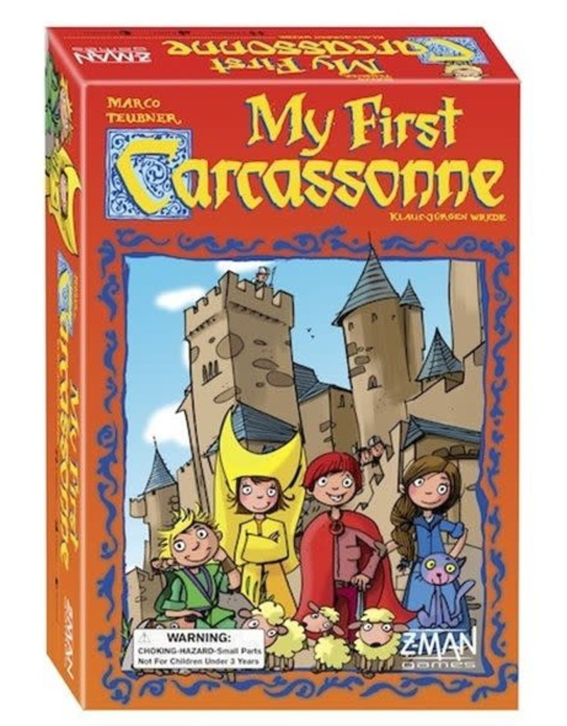 ZMan Games Carcassonne My First Carcassonne