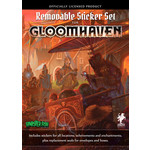 Cephalofair Games Gloomhaven Reuseable Sticker Set