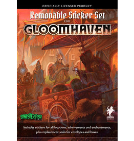Cephalofair Games Gloomhaven Reuseable Sticker Set