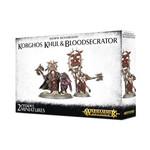 Games Workshop Korghos Khul and Bloodsecrator