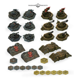 Games Workshop Aeronautica Imperialis Ground Assets and Objectives