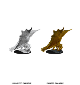 WIZKIDS/NECA D&DNMUM Young Gold Dragon W11