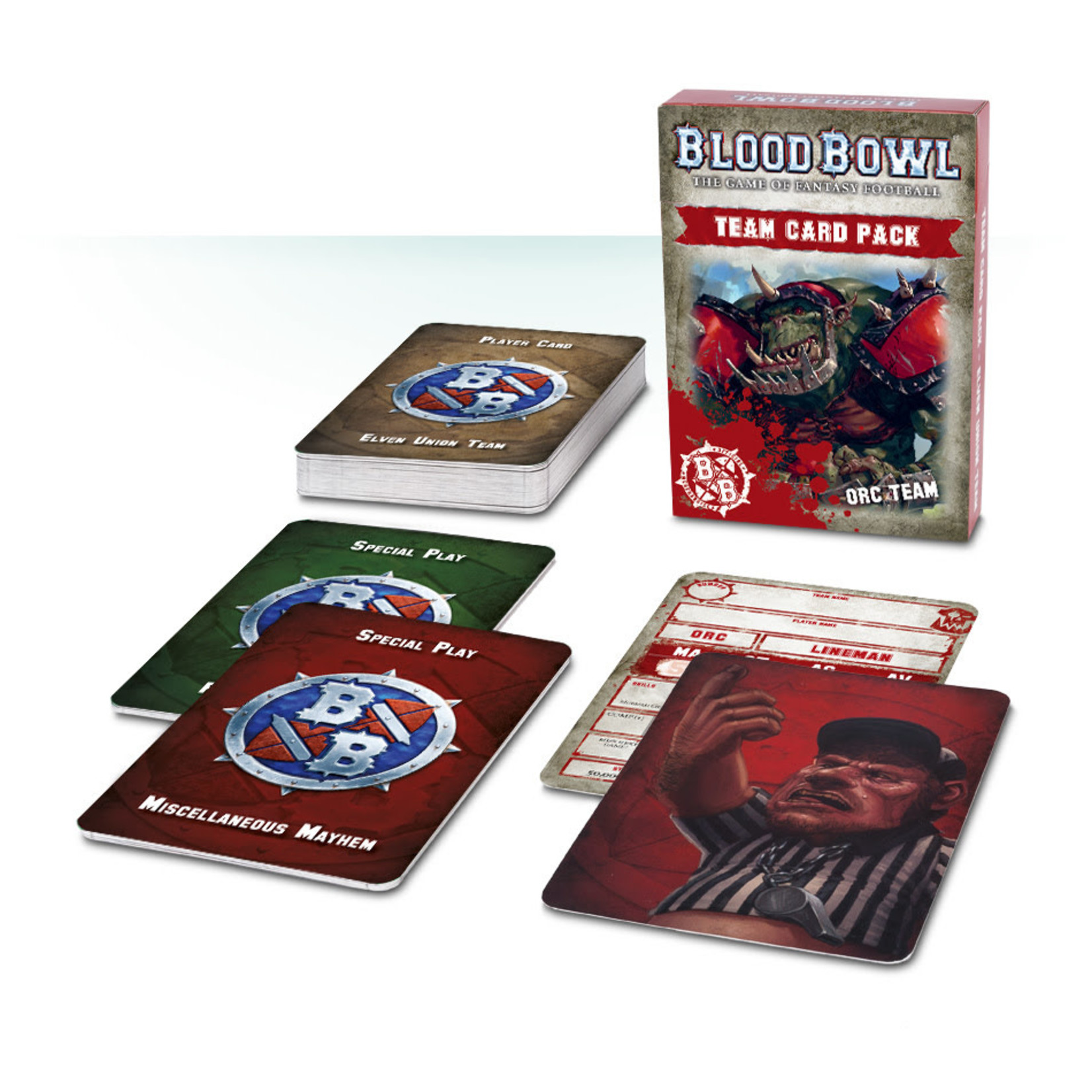 Games Workshop BB Orc Team Card Packs