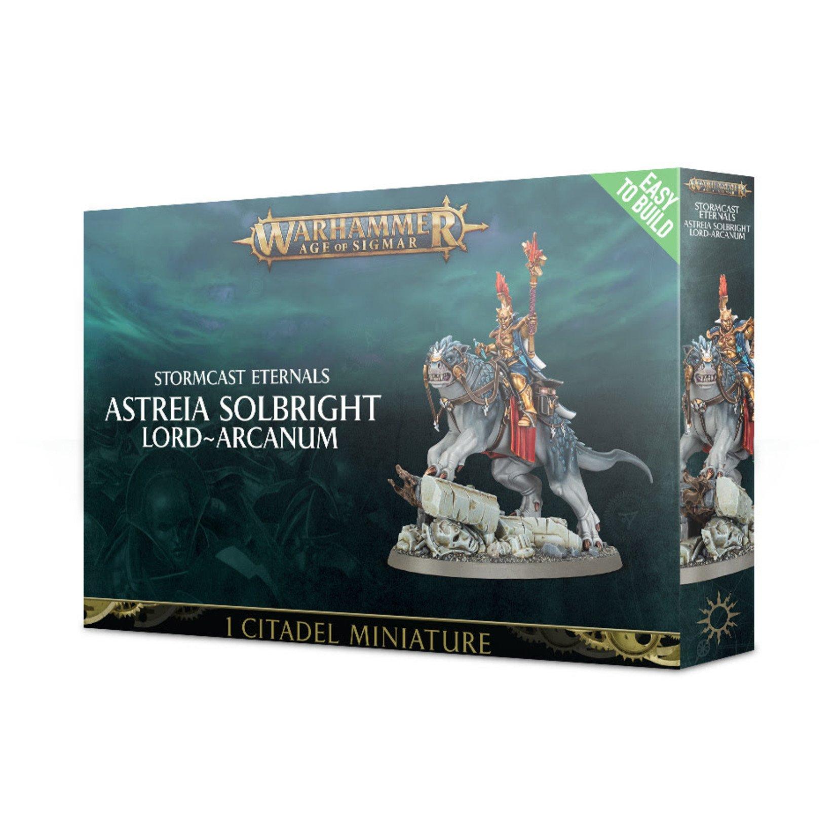 Games Workshop Astreia Solbright, Lord-Arcanum