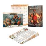 Games Workshop Fyreslayers Warscroll Cards