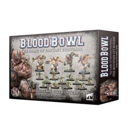 Games Workshop Fire Mountain Gut Busters Blood Bowl Ogre Team