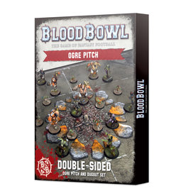 Games Workshop Blood Bowl Ogre Team Pitch & Dougouts