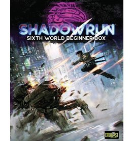 Catalyst Game Labs Shadowrun RPG 6E Beginner Box