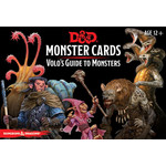 GaleForce Nine D&D RPG: Monster Cards Volo`s Guide to Monsters (81 cards)