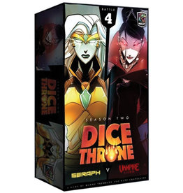 Roxely Games Dice Throne S2 Seraph Vs. Vampire Lord