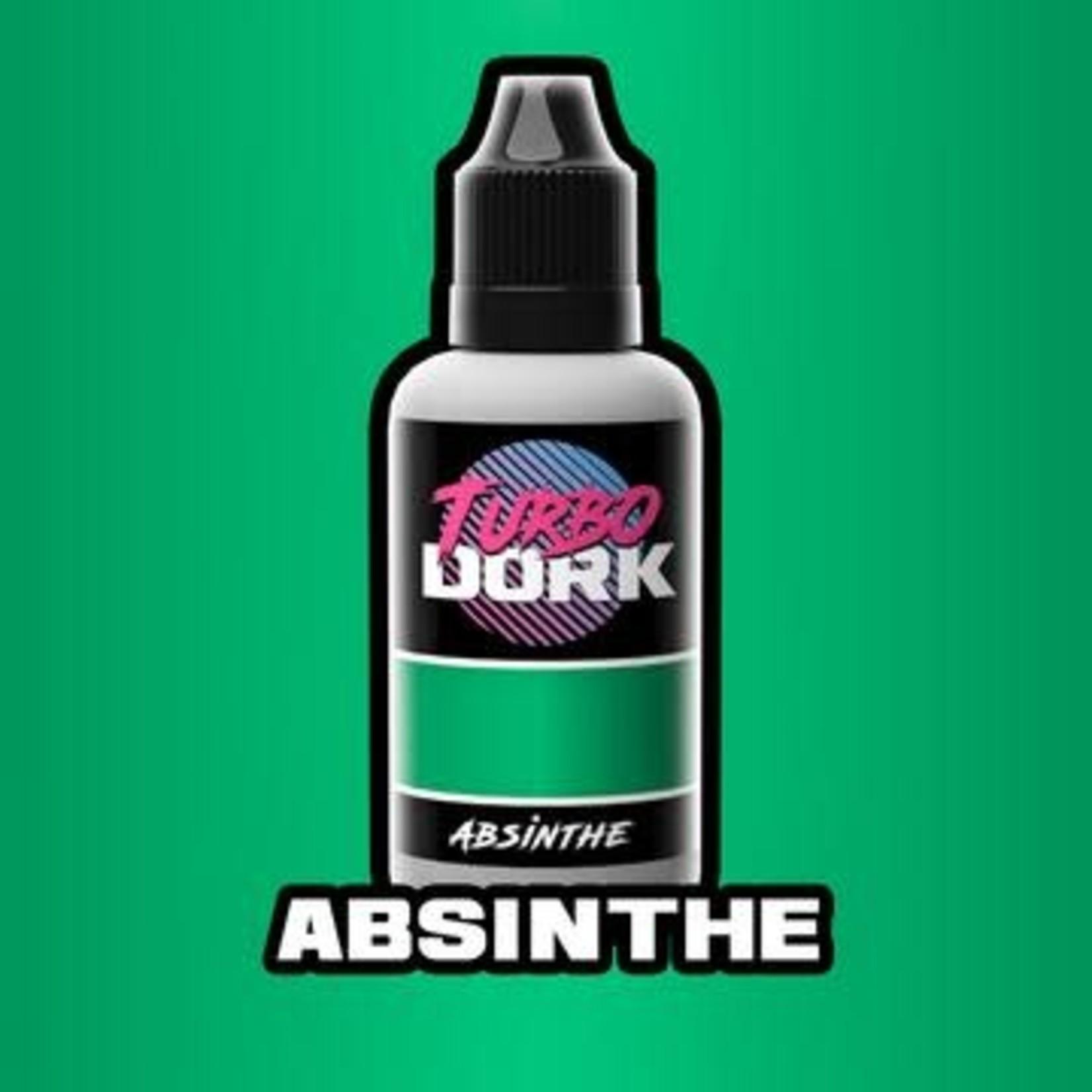 Turbo Dork Absinthe Colorshift Acrylic 20mm