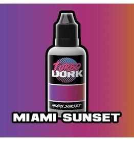 Turbo Dork Miami Sunset Colorshift Acrylic 20mm