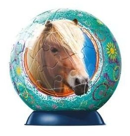 Ravensburger Horses with Glitter 60pc puzzleball