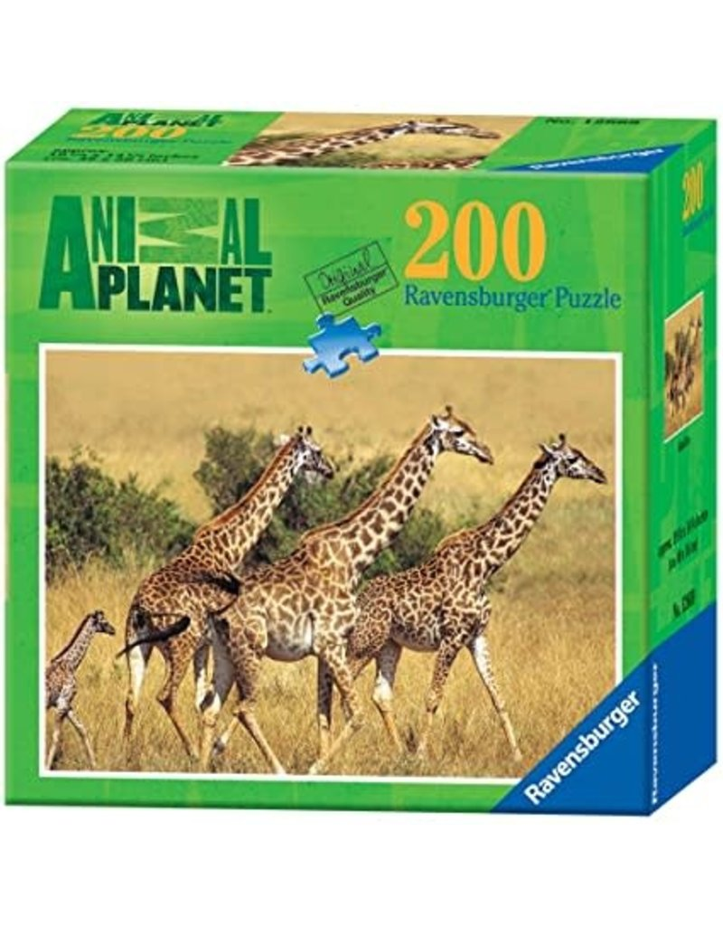 Ravensburger Animal Planet Giraffes 200pc puzzle