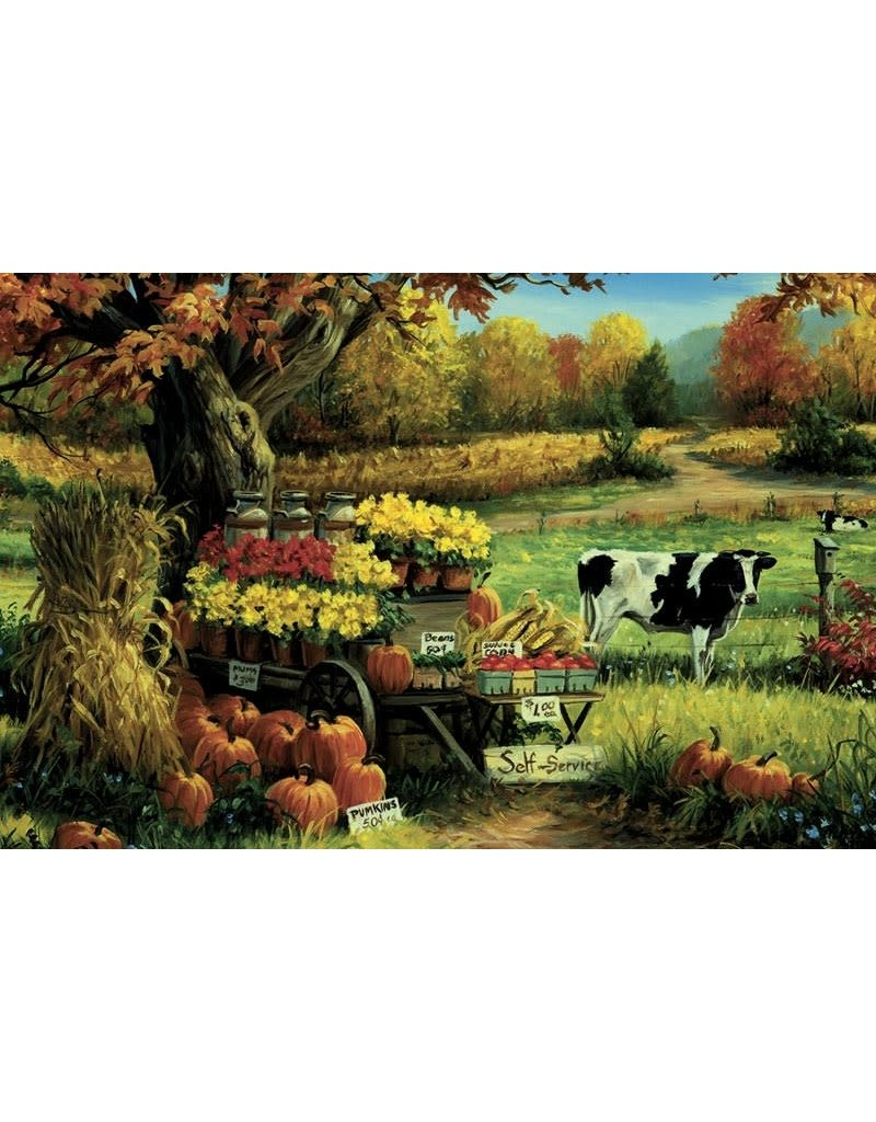 Cobble Hill Countryside Stand 180pc Kids puzzle