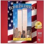 Master Pieces Puzzle God Bless America 500 piece puzzle
