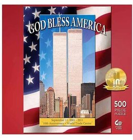 Master Pieces Puzzle God Bless America 500 piece puzzle