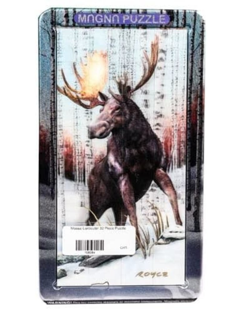 Cobble Hill Moose Lenticular 24pc puzzle