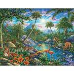 Springbok Discovery Island 100 pc puzzle