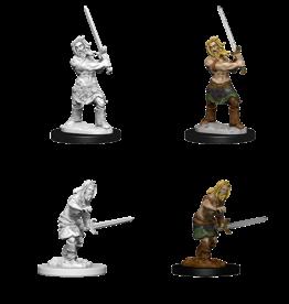 WIZKIDS/NECA PFDCUM Human Male Barbarian W6