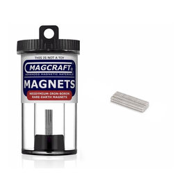 MagCraft Rare Earth Magnet 0.0625 x 0.03125 200ct